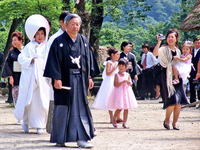 A marriage matrix of Shirakawa-go