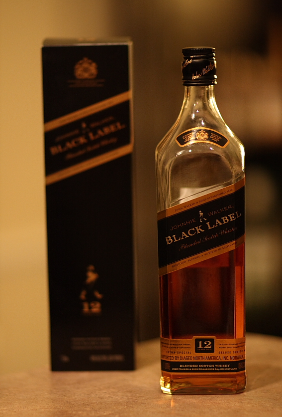 Black Label whiskey