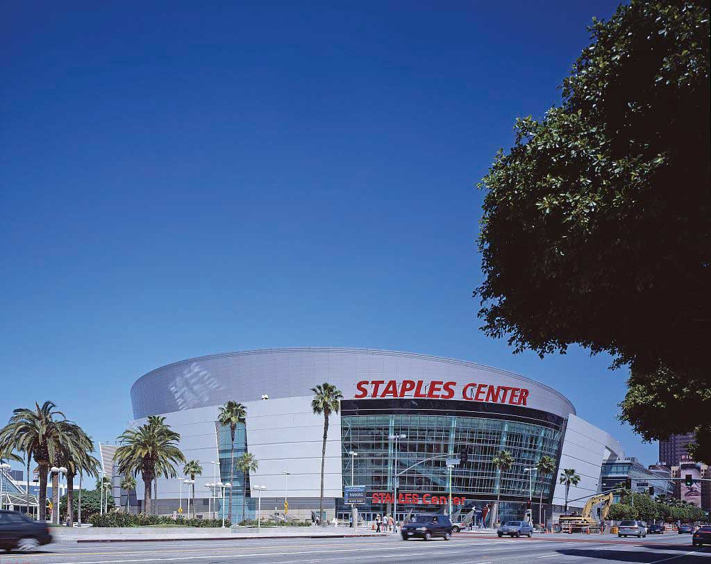 The Los Angeles Staples Center