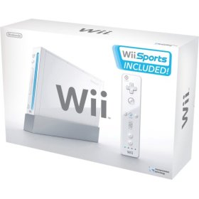 A Nintendo Wii console
