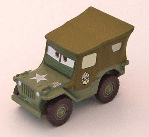 Sarge car toy (made with lead paint)