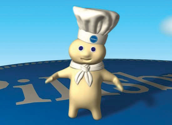 The Pillsbury Doughboy
