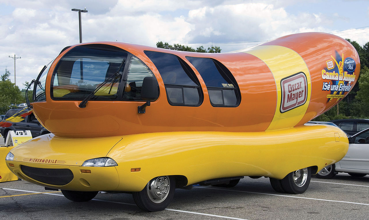 The Oscar Mayer Wienermobile