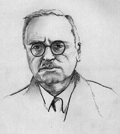 An illustration shows Alfred Adler.