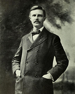 A photograph of Frederick Jackson Turner is shown.